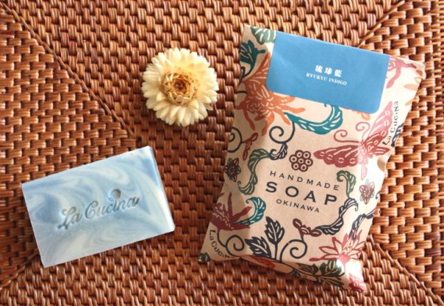 琉球藍の石鹸