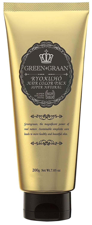 緑宝ヘアカラーパック グリン グラン