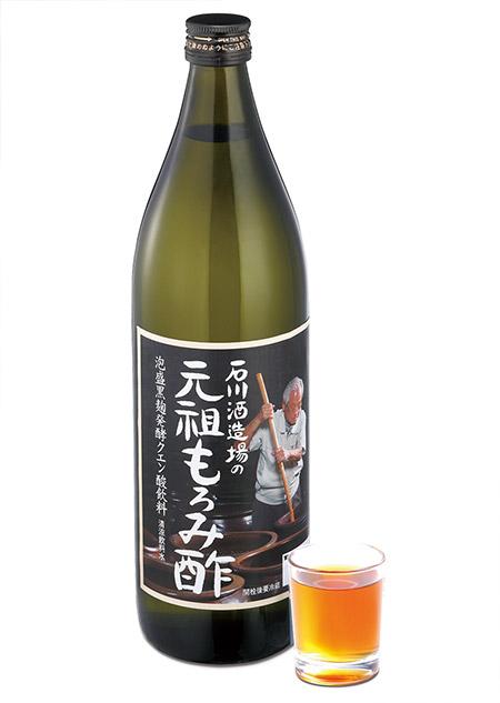 石川酒造場の元祖もろみ酢