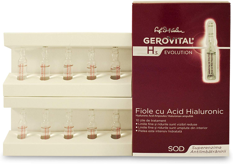 ヒアルロン酸アンプル入り美容液