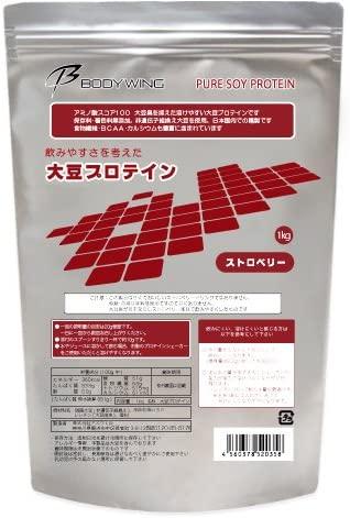 大豆プロテイン ストロベリー