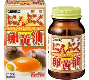 無臭 にんにく卵黄油 オリヒロ